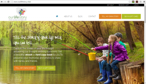 OurLifeStory Home Page - Children Fishing